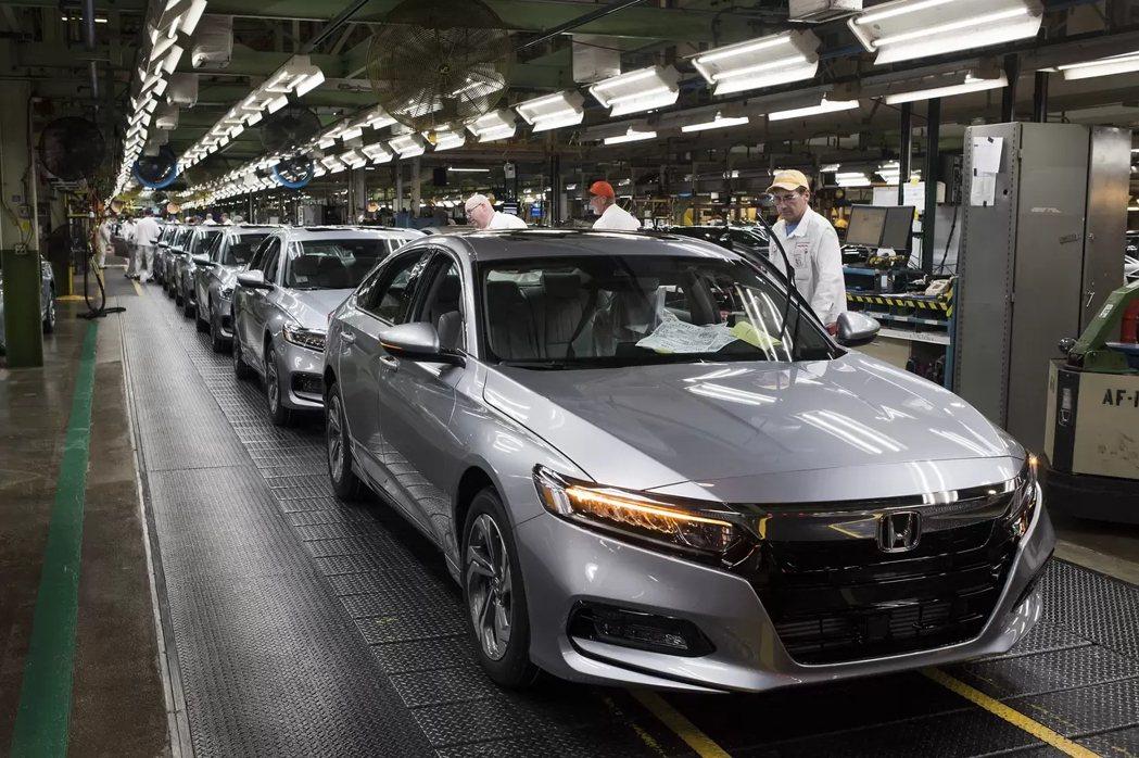 Honda俄亥俄州的基地目前為Accord、Acura ILX、TLX等四門房車...