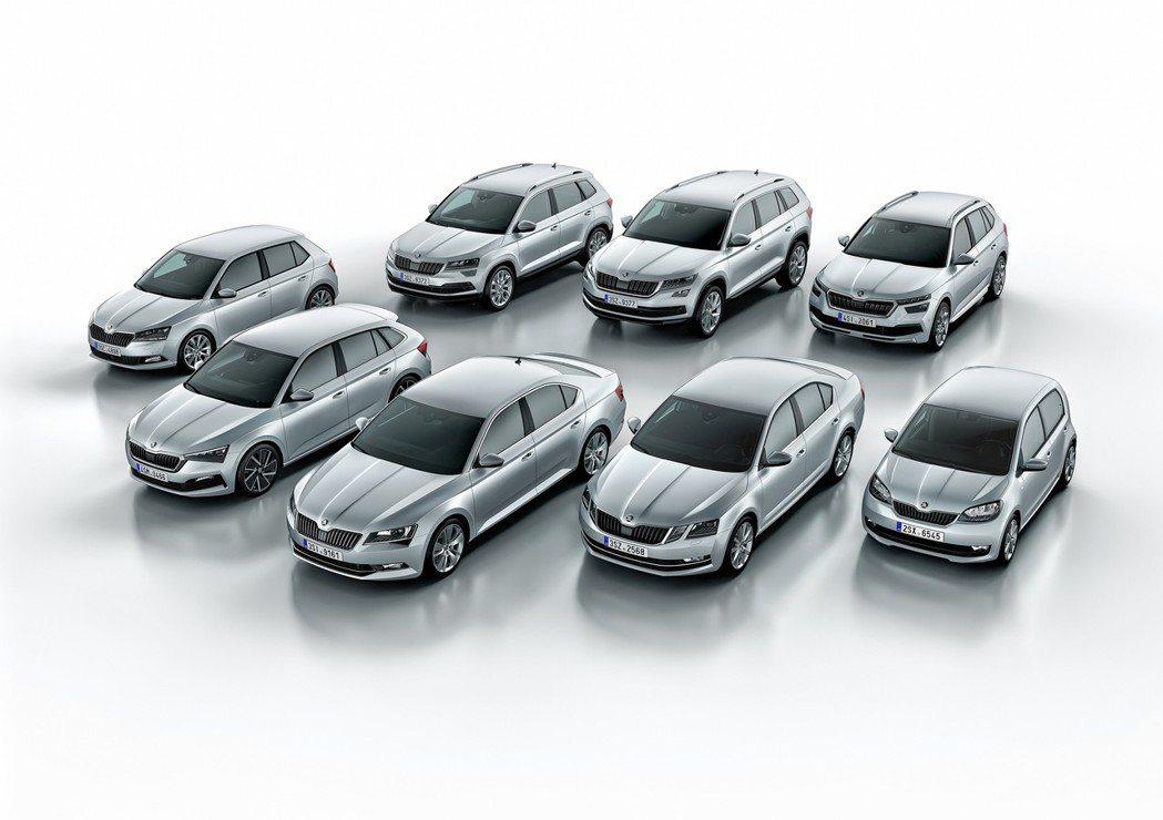 ŠKODA今年第一季售出307,600輛,與去年同期相比下滑了2.9%。 摘自Š...