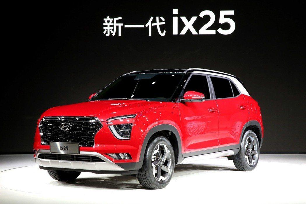 新世代中國專屬的Hyundai ix25,於2019上海車展正式發表。 摘自Hy...