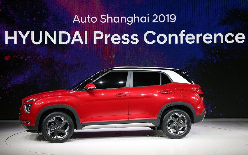 新世代Hyundai ix25的車身尺碼將比現行版來得大。 摘自Hyundai