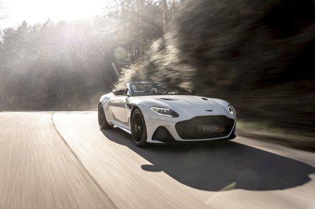 上空英倫特務Aston Martin DBS Superleggera Volante絕美登場!