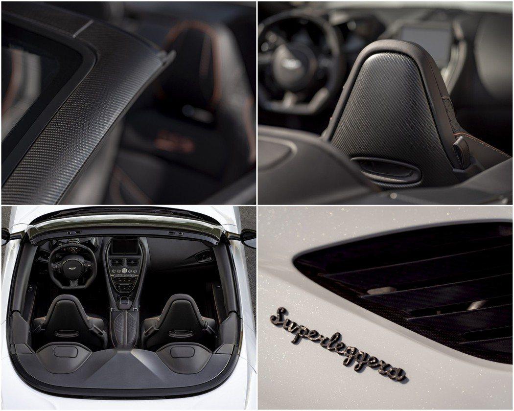 DBS Superleggera Volante還配有外觀碳纖維套件。 摘自As...