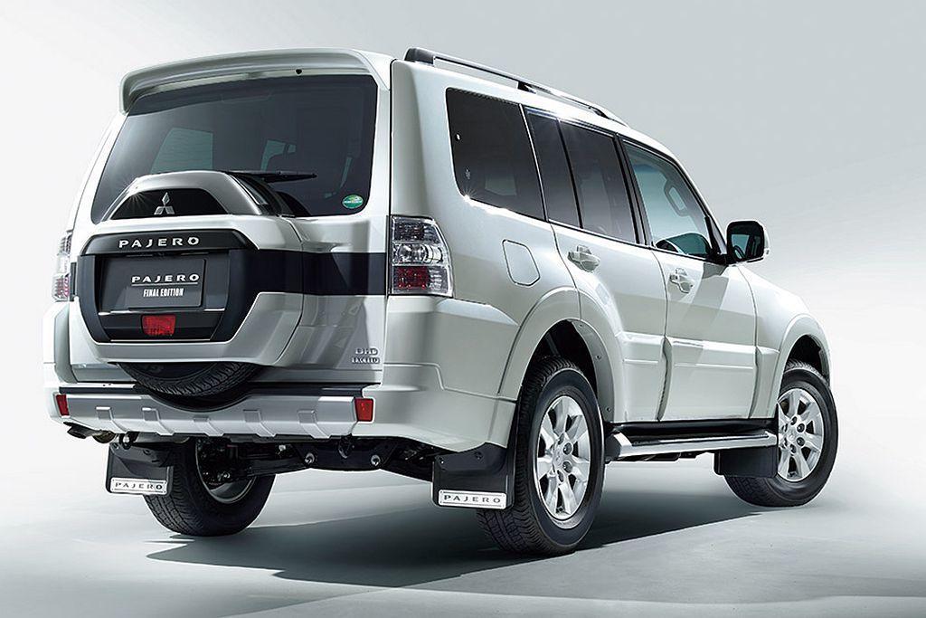三菱Pajero Final Edition搭載3.2L直列四缸渦輪柴油引擎,可...