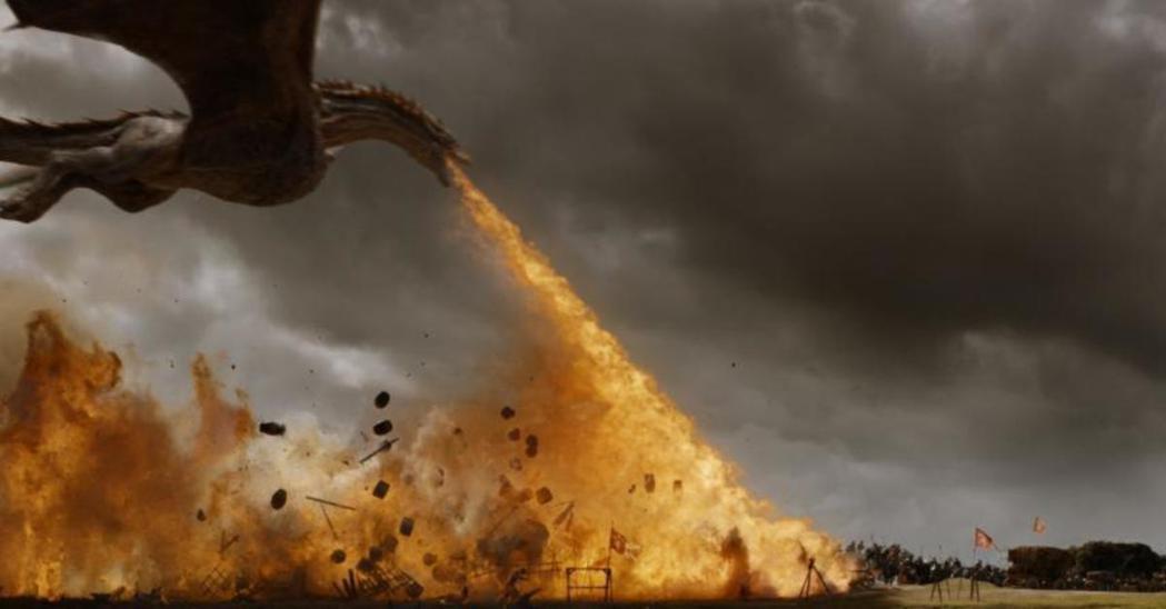 「冰與火之歌:權力遊戲」最大戰爭花了55天拍攝完成,長度媲美一部電影。圖/摘自H...