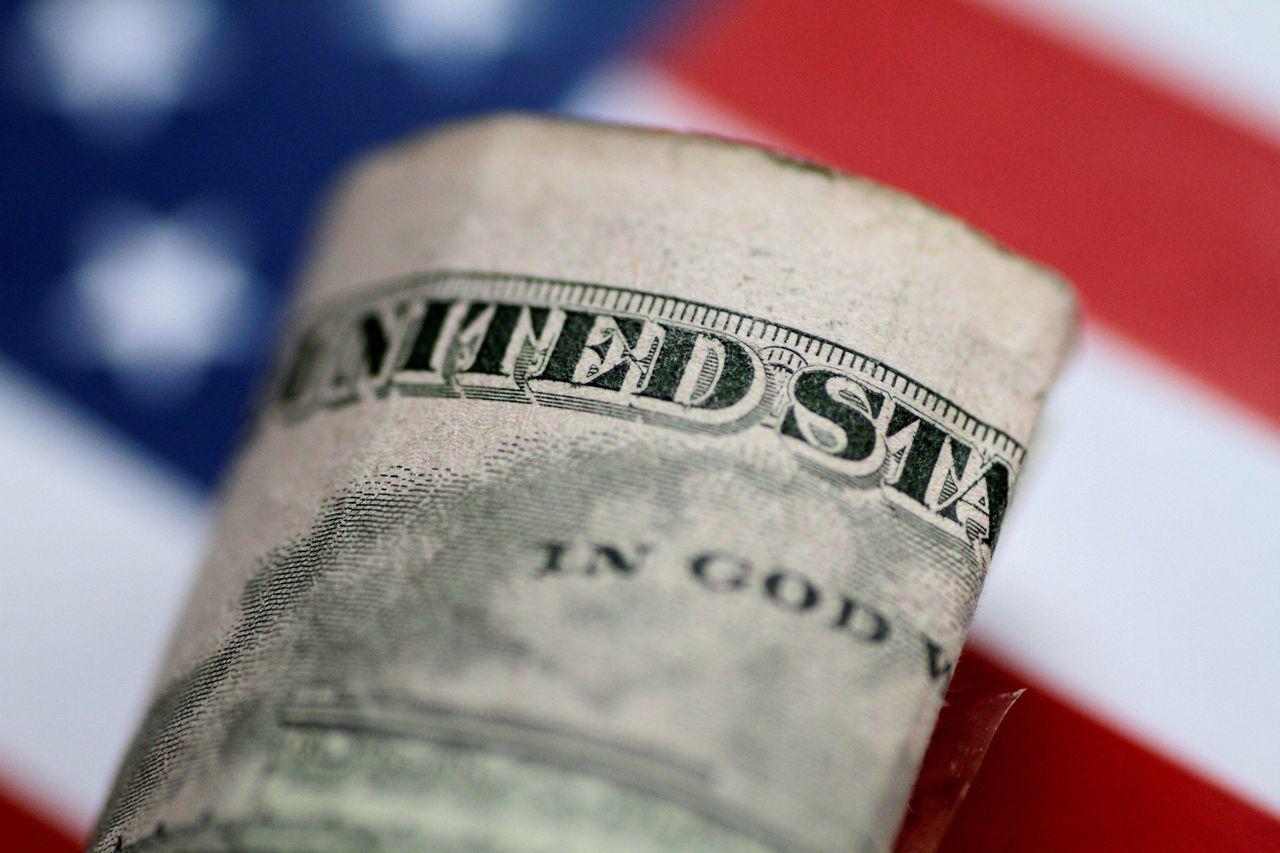 美元對六種主要貨幣走勢的美元指數(DXY)漲0.4%至97.636。路透