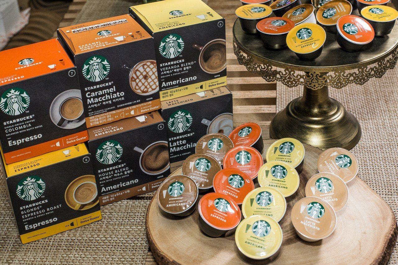 星巴克Nescafé Dolce Gust咖啡膠囊,6種風味,建議售價單盒230...