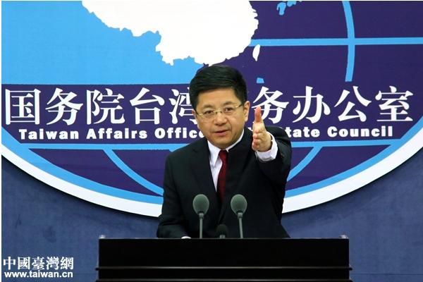 大陸國台辦發言人馬曉光今天稱,不介入也不評論台灣選舉,所謂「大陸干預」的說法,純...