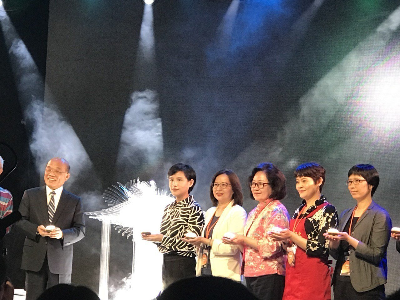 2019台灣文博會今天登場,本屆參展規模創歷年之最。記者馮靖惠/攝影