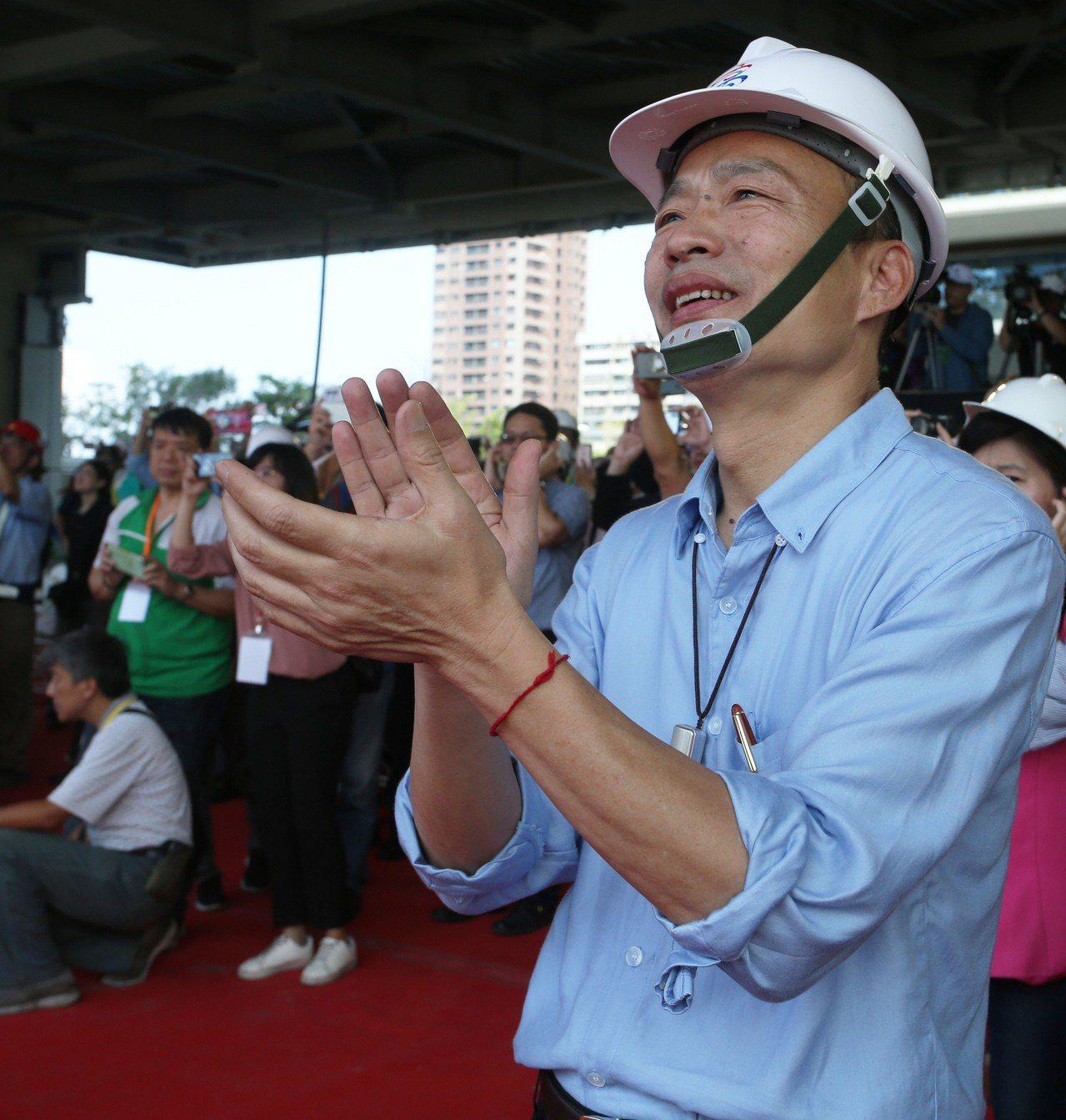 針對是否參選2020總統大選,高雄市長韓國瑜23日發表5聲明表態,但之後發言轉趨...