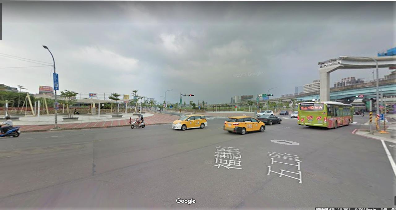 新莊北側知識產業園區一帶 取自google map