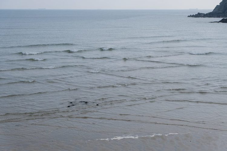 奇景「方塊海」只有法國與馬祖才看得到,也被稱為「上帝轉動的方塊」。圖/連江縣交通...