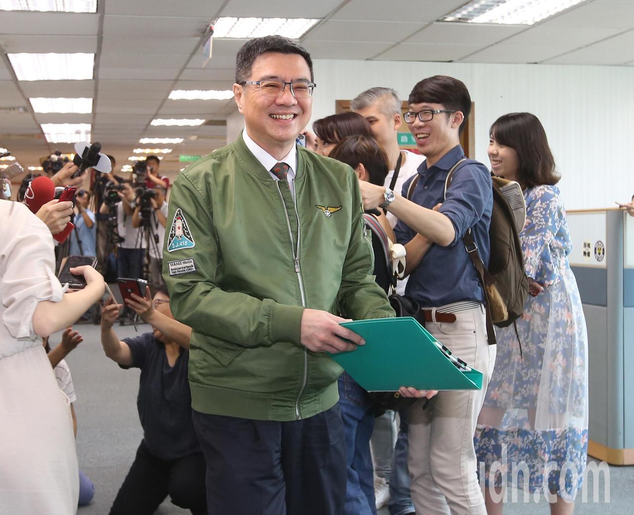 民進黨主席卓榮泰下午主持中常會。記者林澔一/攝影