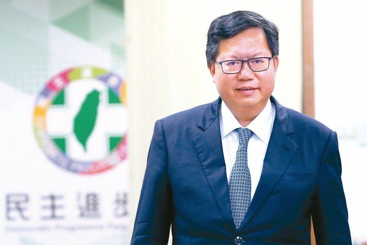 桃園市長鄭文燦。記者蘇健忠、林澔一/攝影