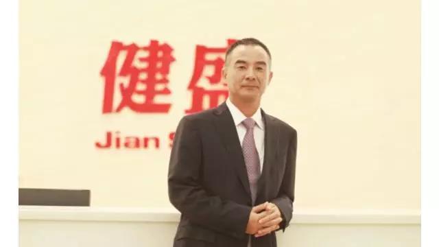 健盛集團董事長張茂義。取自券商中國