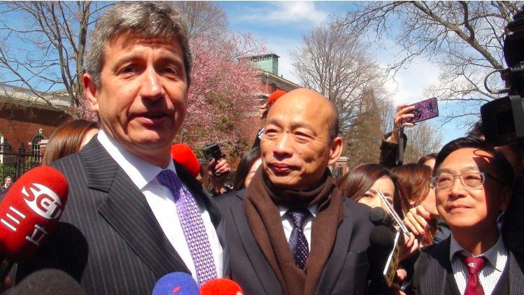 高雄市長韓國瑜在美訪問一言一行受到高度關注。 圖/聯合報系資料照片