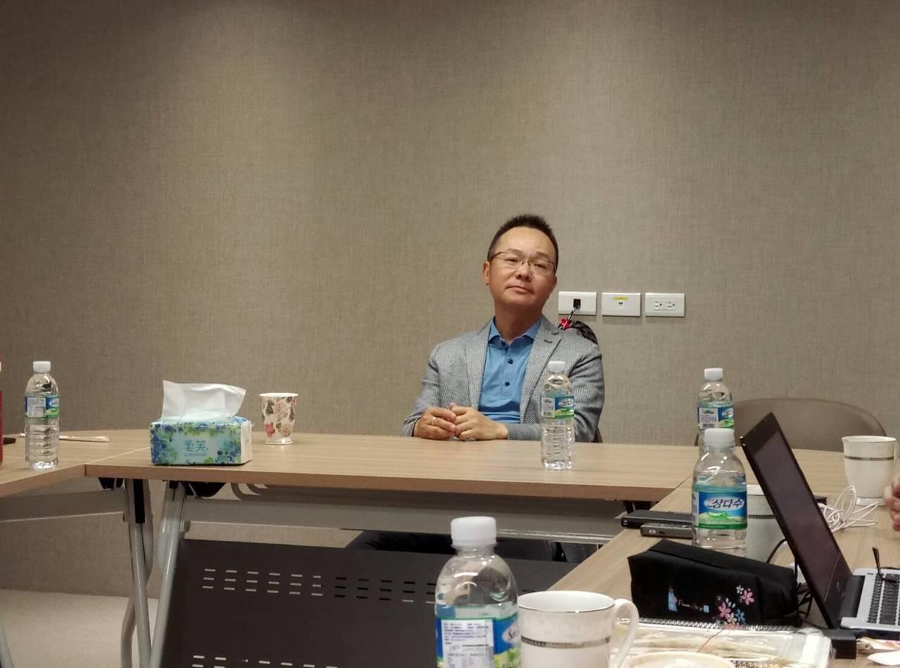 中華民國高球協會王政松理事長。記者林宋以情/攝影