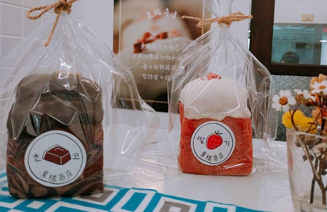 「東橋商店」韓式麵包好吃好拍。圖/東橋商店提供