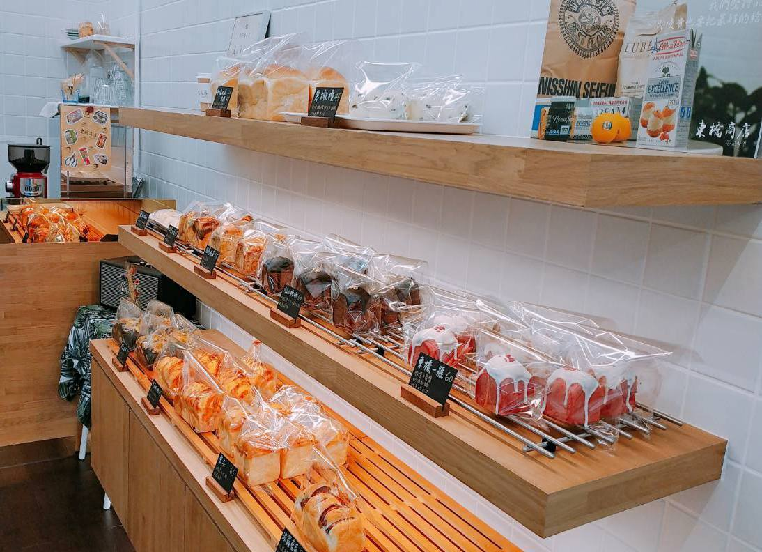 「東橋商店」是中山站附近隱藏韓式麵包店。圖/東橋商店提供