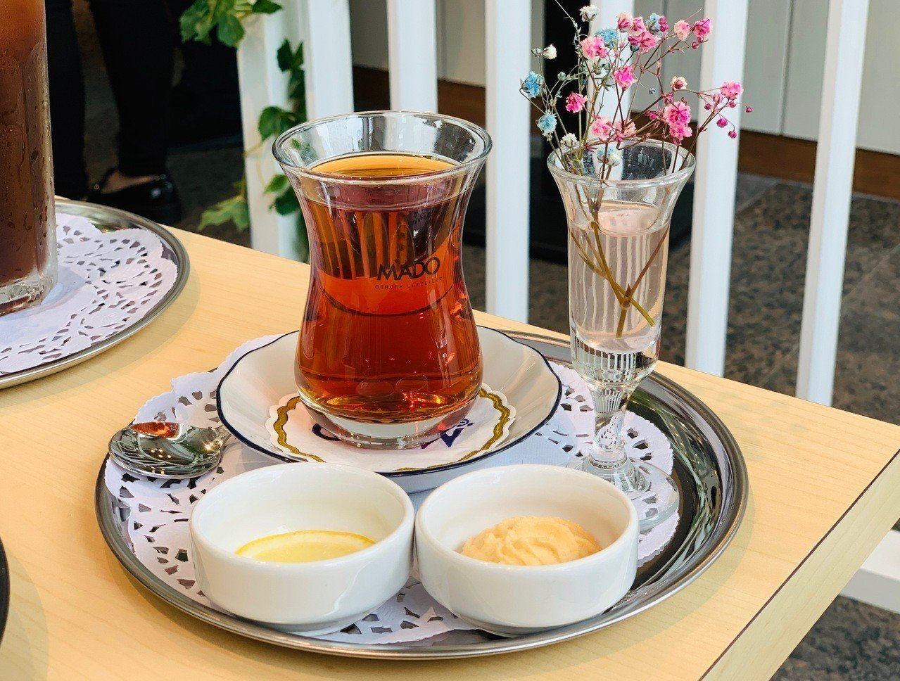 MADO土耳其特色茶飲。記者張芳瑜/攝影