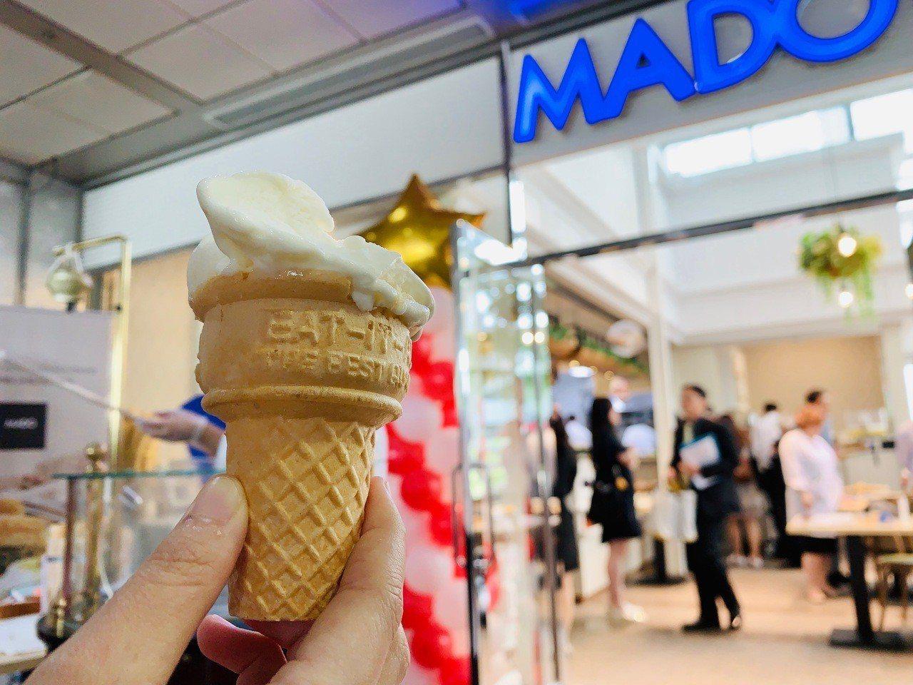原味土耳其冰淇淋。記者張芳瑜/攝影