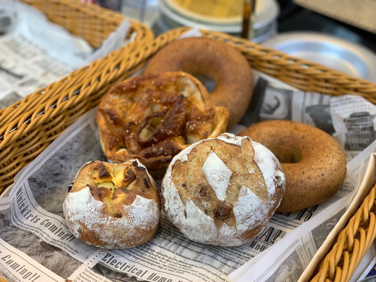 MADO販售多款麵包。記者張芳瑜/攝影