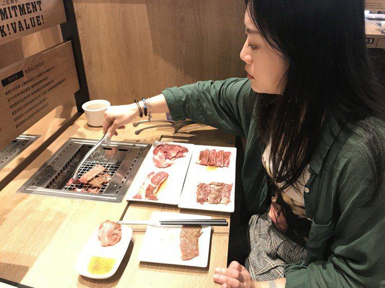 「燒肉LIKE」滿足一個人也可以輕鬆吃燒肉的需求。記者江佩君/攝影