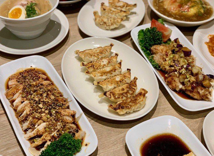 統一時代店與日本有樂町菜單一致。記者張芳瑜/攝影