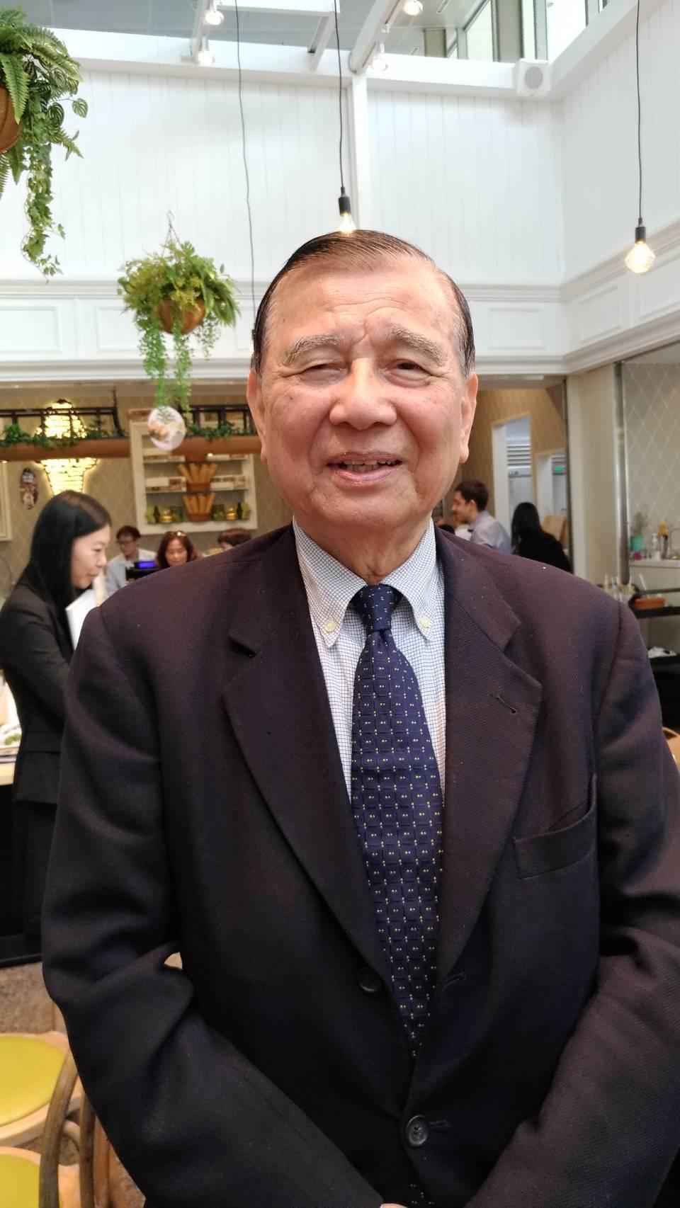 面對寶佳的插旗,東元集團會長黃茂雄強調:「我們可以掌握足夠的股權,也有足夠的資金...