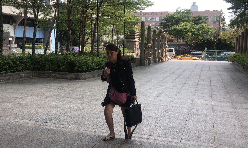 女房東張淑晶出庭。記者蕭雅娟/攝影
