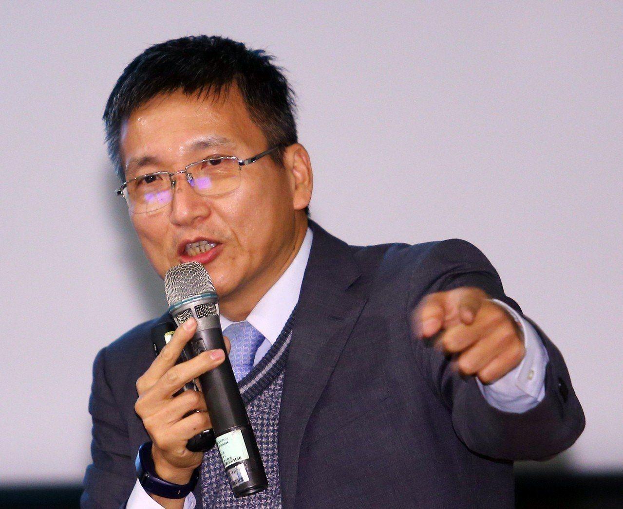 淡江大學陸研所副教授、兩岸關係研究中心主任張五岳。圖/聯合報系資料照