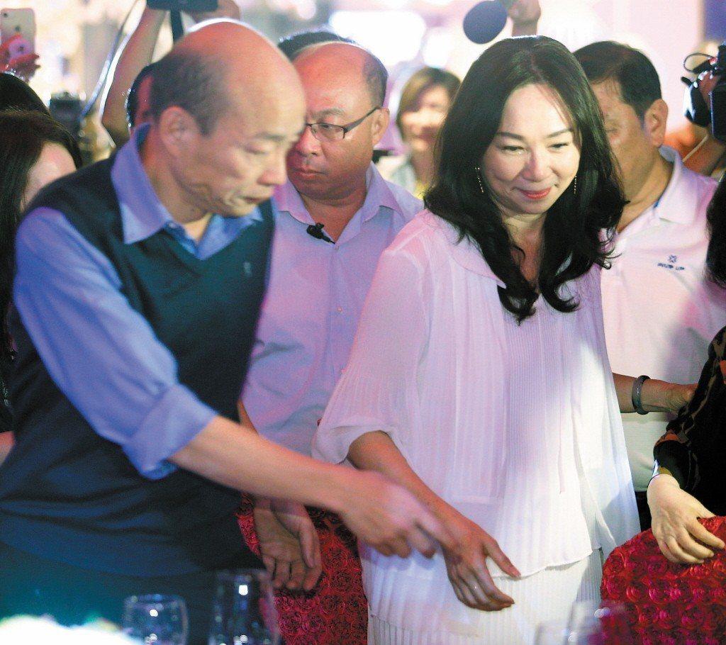 黃光芹接連槓上韓國瑜、李佳芬夫婦。圖/聯合報系資料照片