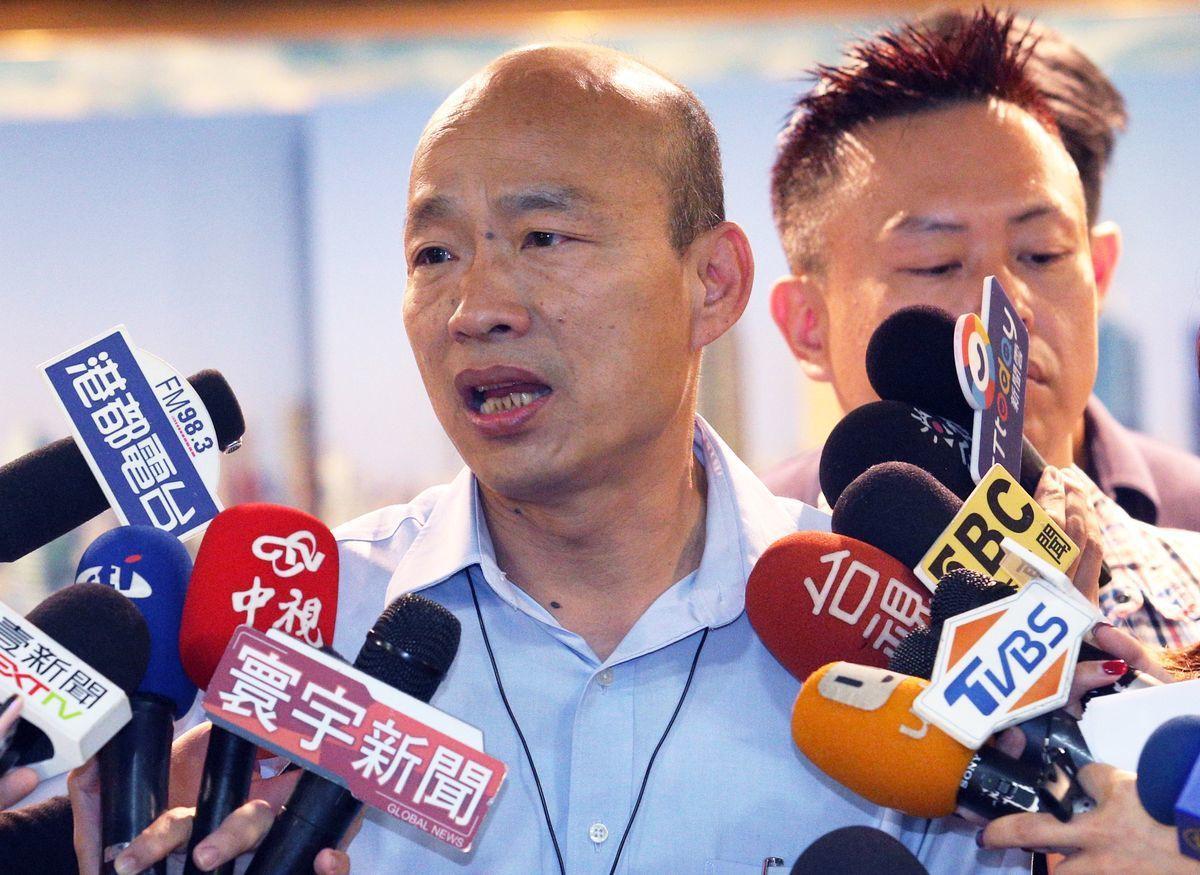 高雄市長韓國瑜從未公開責罵觀光局長潘恒旭,但據了解私下曾罵他一頓。圖/聯合報系資...