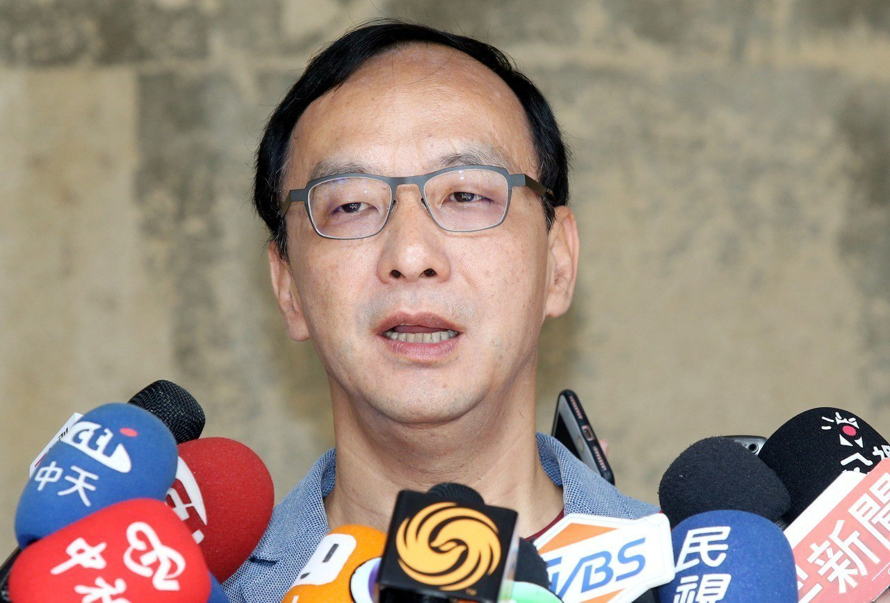 新北市前市長朱立倫。 記者林俊良/攝影