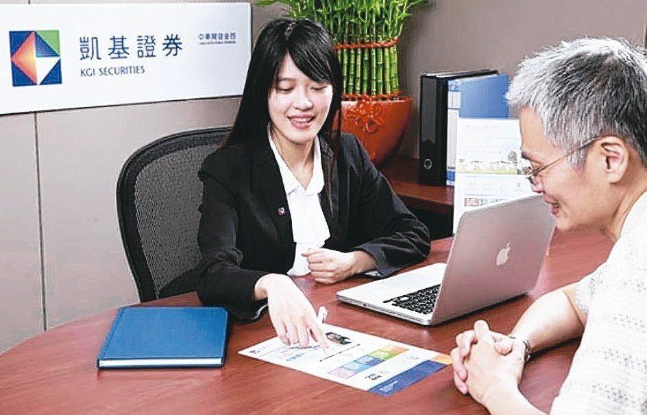 凱基證券提供完整股票出借服務,助客戶活化資產創造收益。 凱基證券/提供