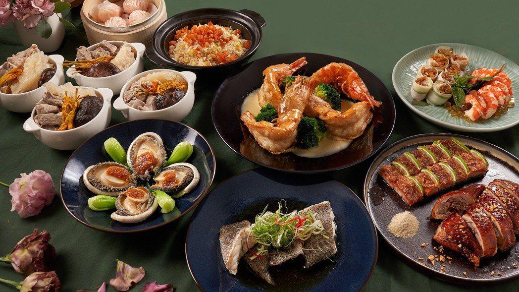台北新板希爾頓母親節套餐。台北新板希爾頓/提供