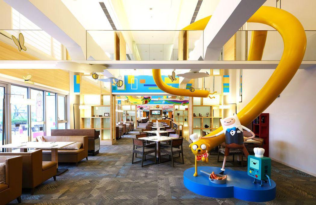 和逸飯店台南西門館卡通頻道派對歡樂廚房。  國泰飯店觀光事業 提供