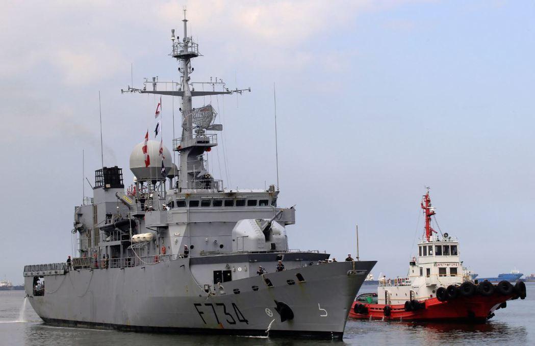 美國透露法國軍艦「葡月號」通過台海,其他盟邦或將跟進。 (路透)