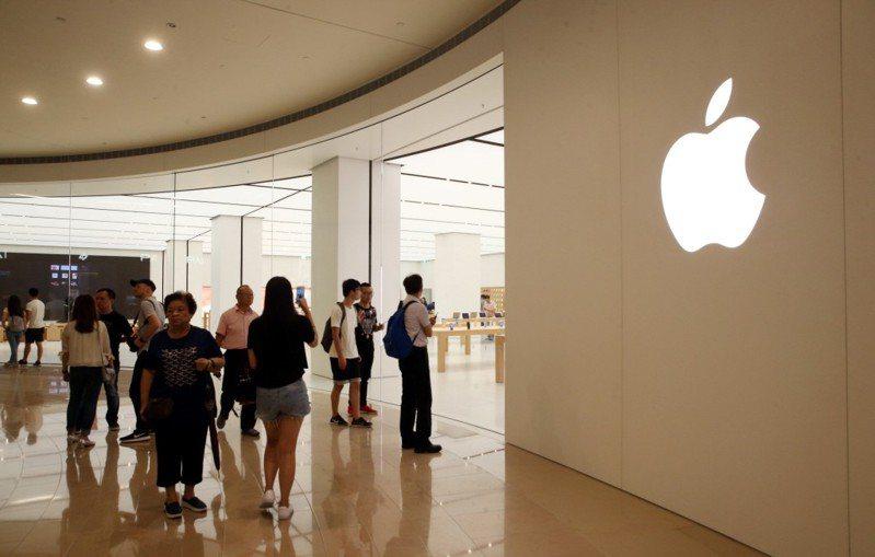 圖為Apple Store。聯合報系資料照