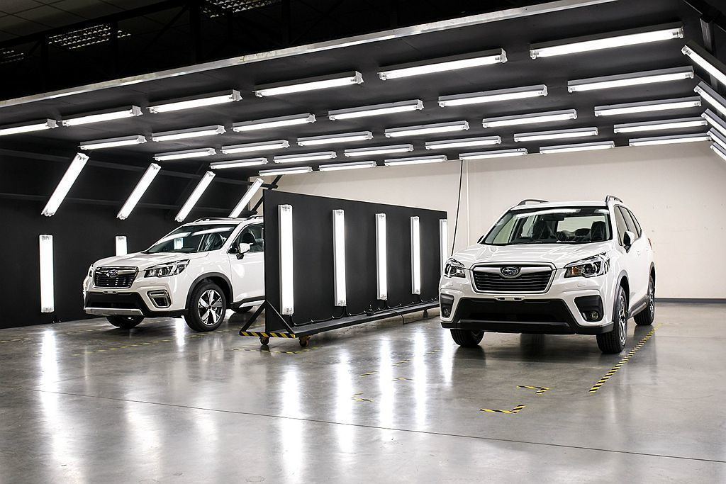 東南亞地區第二座Subaru CKD組裝廠,日前於泰國正式啟用生產。 圖/陳唱國...