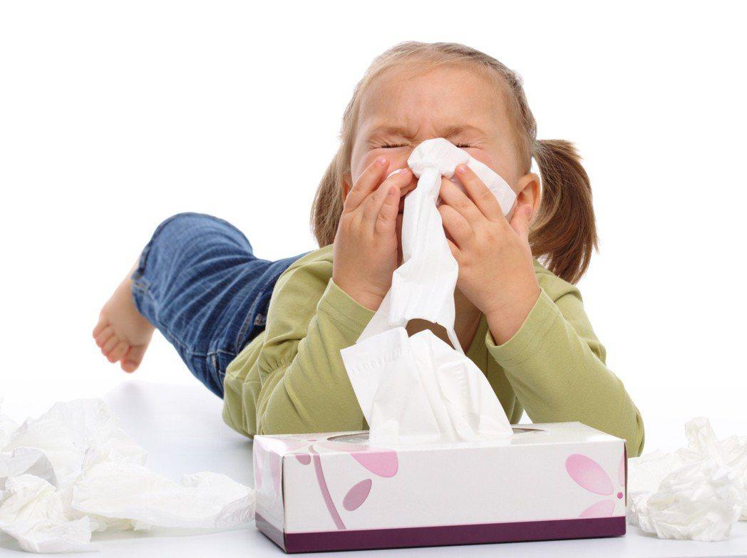 孩子老掛著鼻涕好不了?原來是過敏──對抗塵蟎這樣做。圖/ingimage