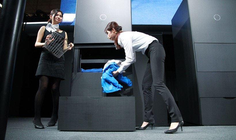 Landroid 外型就似是一個普通的儲物櫃,放在家中或房間也沒問題。圖/擷自官...