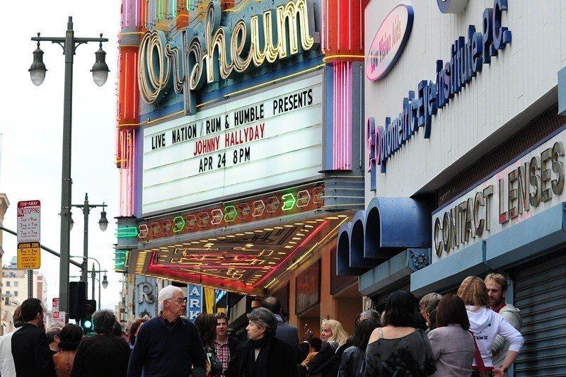 圖為美國洛杉磯奧芬劇院。 圖/法新社
