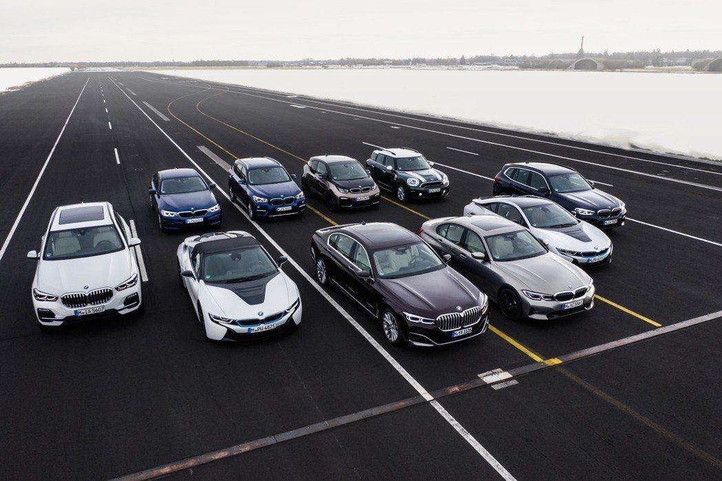 BMW電動車系近年在全球的銷售表現相當出色。 摘自BMW