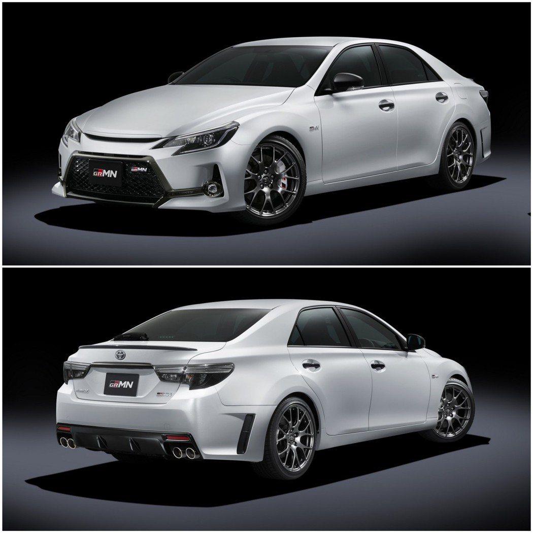 限量350台的Toyota MARK X GRMN II。 摘自Toyota.j...