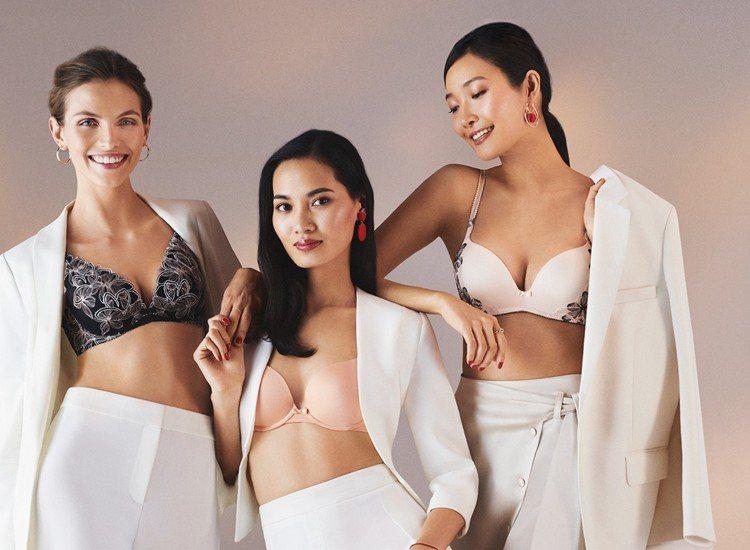 「Aqua Lily花漾水感動」為斜槓世代不同的女性提供充滿自信的提托。 圖...