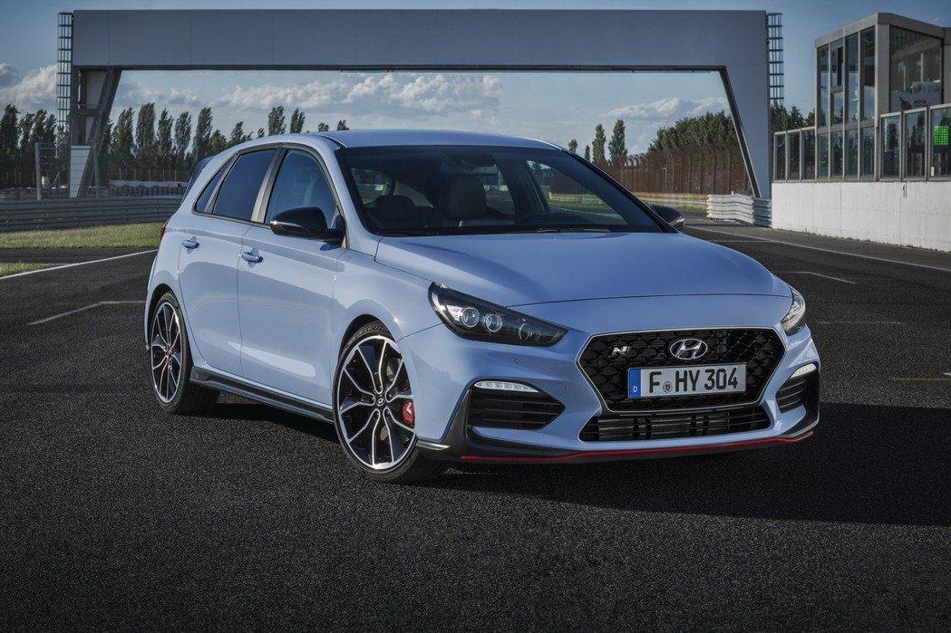 Hyundai性能車代表之一:i30 N。 摘自Hyundai