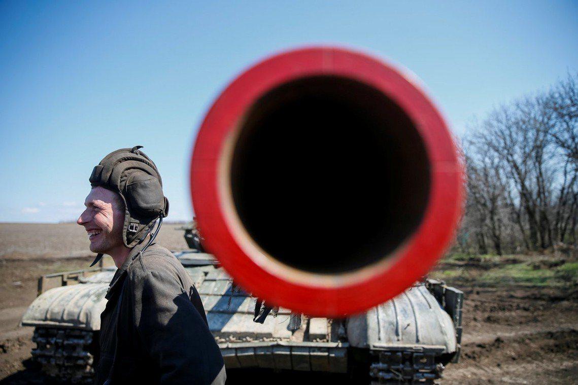 圖為東烏前線。 圖/路透社