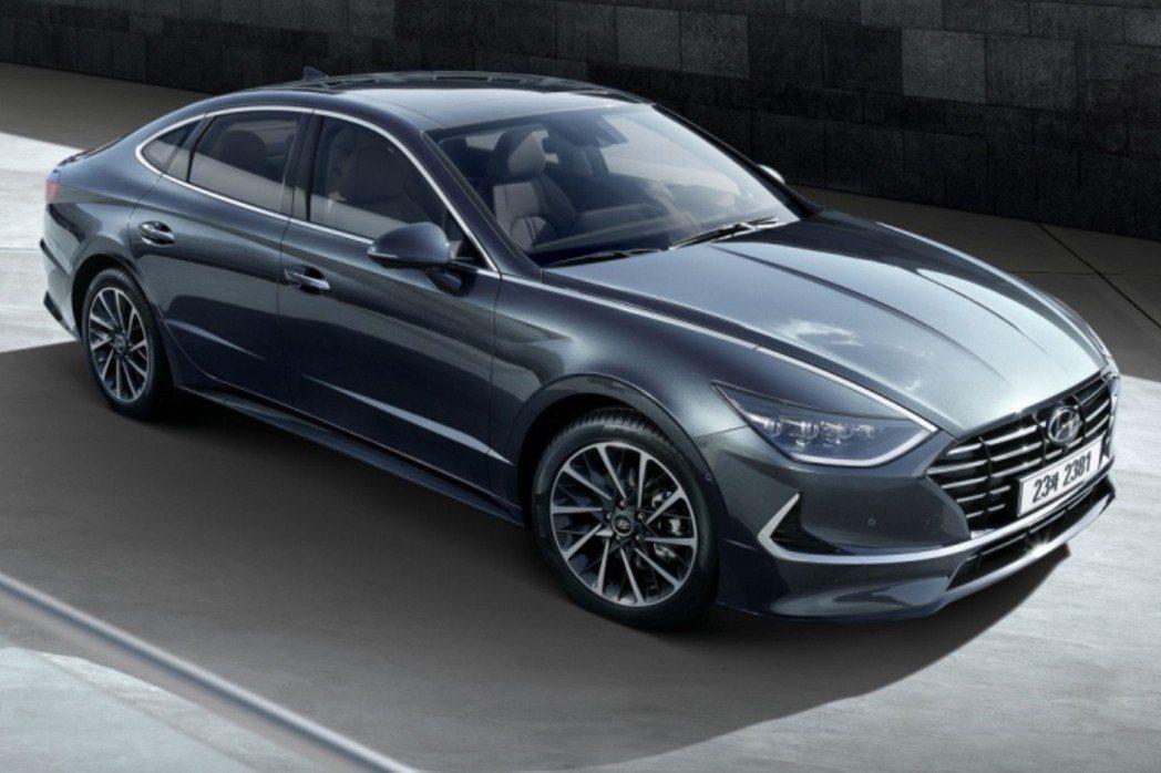 新世代Hyundai Sonata N Line改採Four-Door Coup...