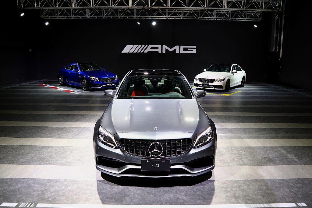 小改款Mercedes-AMG C 63/C 63 S家族在台發表,並同時導入四...