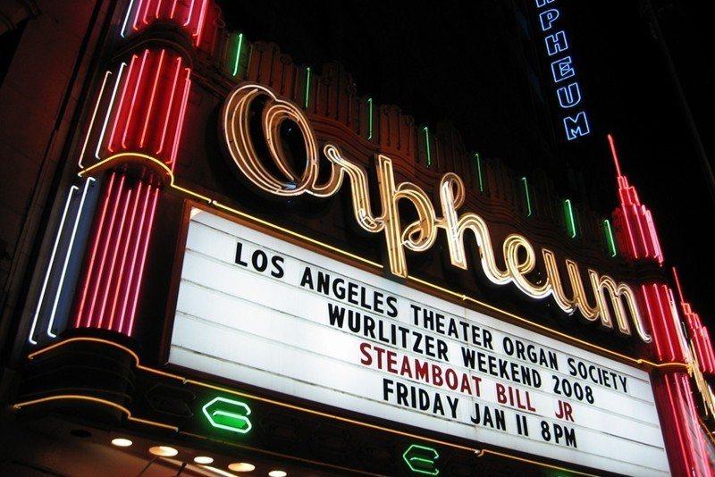 圖為美國洛杉磯奧芬劇院。 圖/取自Orpheum官網